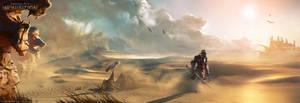 DA:I - Desert by MattRhodesArt