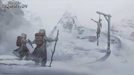 DA:I -  Frozen Wastes by MattRhodesArt