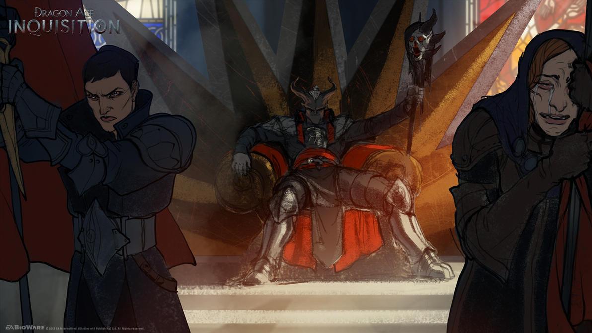 DA:I - Divine Heretic by MattRhodesArt