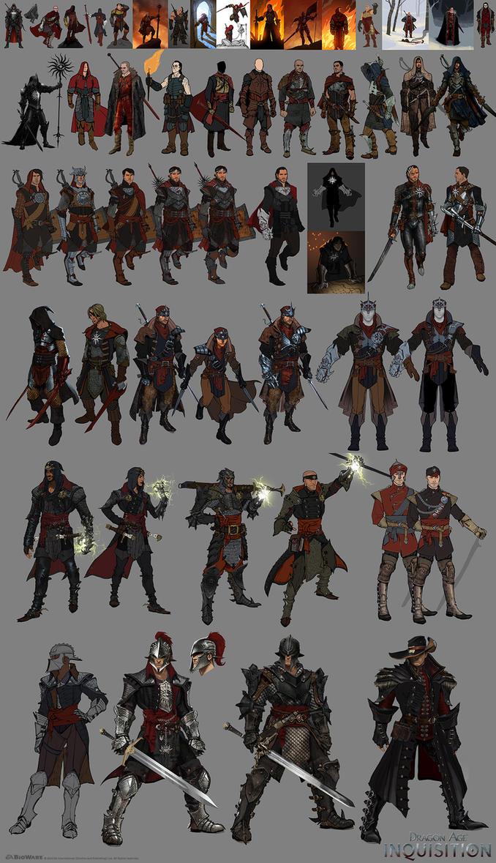DA:I - Some Inquisitor Development by MattRhodesArt
