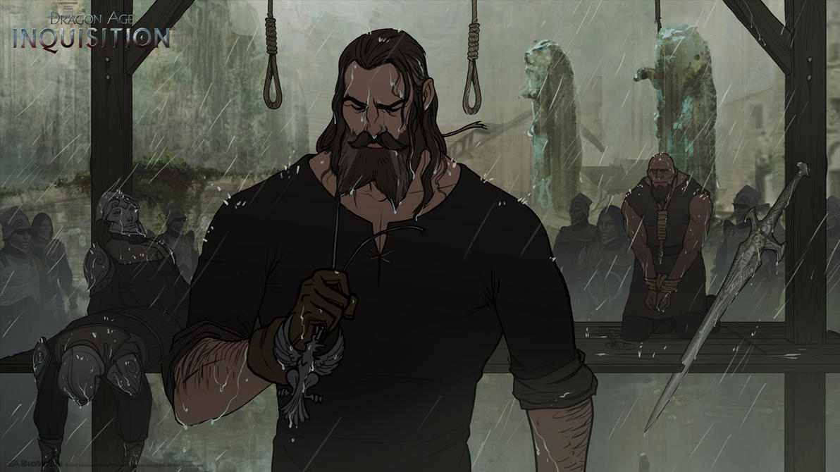DA:I - Blackwall by MattRhodesArt