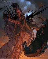 World of Thedas 2 - Triumph of Garahel by MattRhodesArt