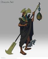 World of Thedas 2 - Darinius, the first Archon by MattRhodesArt