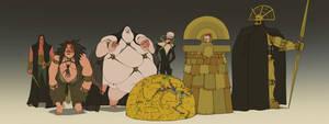 Dune Antagonists by MattRhodesArt