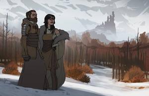 Fantasy Couple by MattRhodesArt