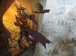 Maleficent by MattRhodesArt