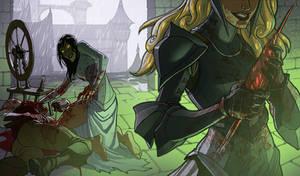 Maleficent origin by MattRhodesArt