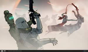 ILM Art Department Challenge: The Job - Combat