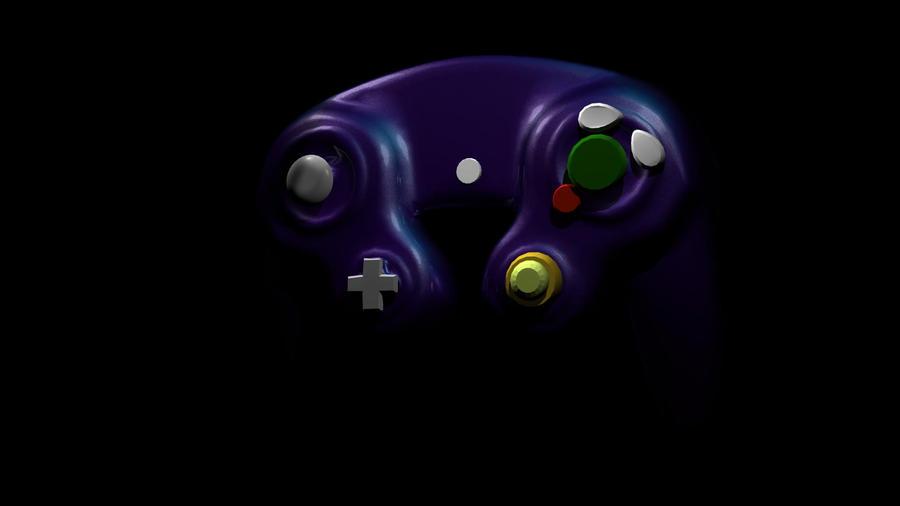 GameCube Controller 3D 2 by RamiBah on deviantART