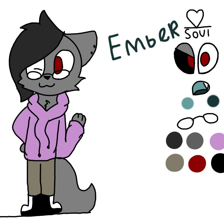 Oc ref emder by 8enderthefox8