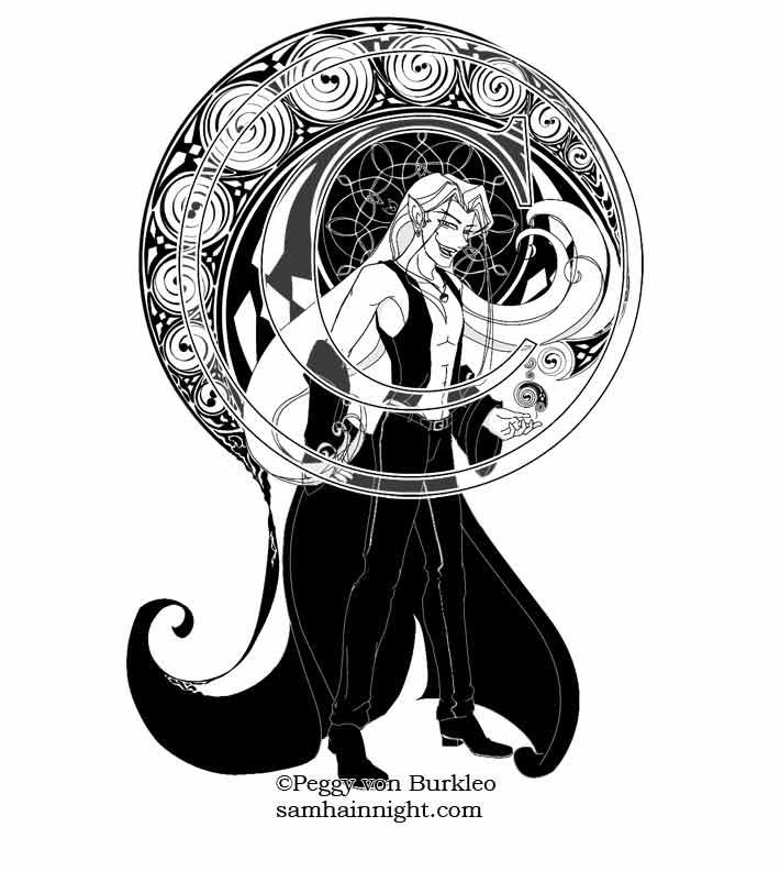Scath Summons a Celtic Shadow by SamhainNightManga
