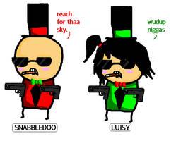 Luisy and SnabbleDoo by luisy