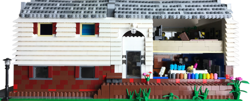 Scale Model of my house in Legos