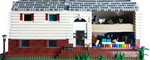 Scale Model of my house in Legos by Rogue24
