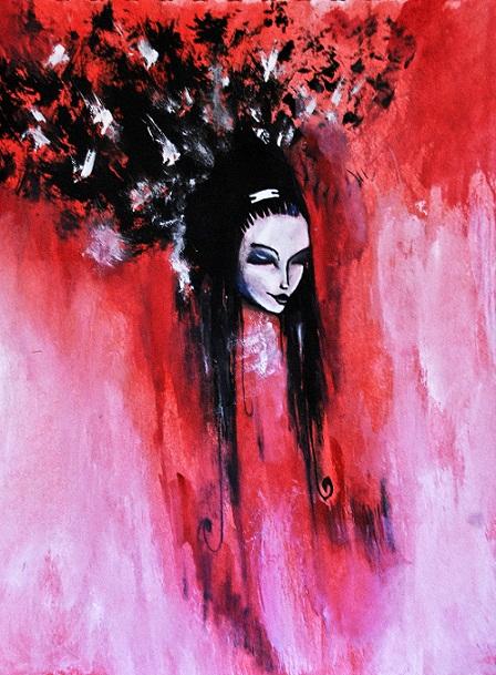 Japanese ghost by DariyaK on DeviantArt