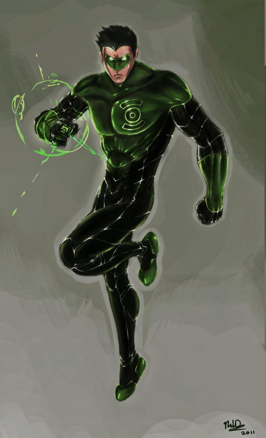Green Lantern Kyle Rayner By Nickld On Deviantart