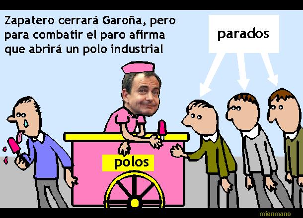 Según Cuatro y CNN, Zapatero cerrará Garoña para hacer un parador nacional y un ´´polo industrial´´