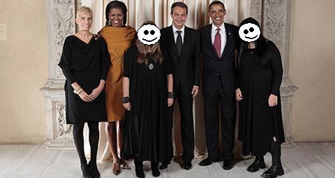 las hijas de zapatero foto censurada
