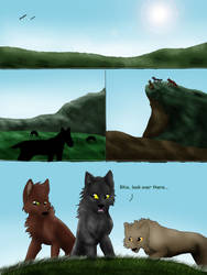 Forever North page one by Everyn25
