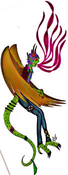 winged monster boy