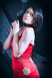 Ada Wong by Centroja