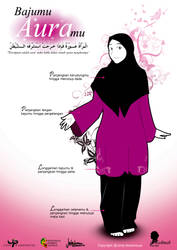 Dress Instruction for Muslimah by zenvuitton