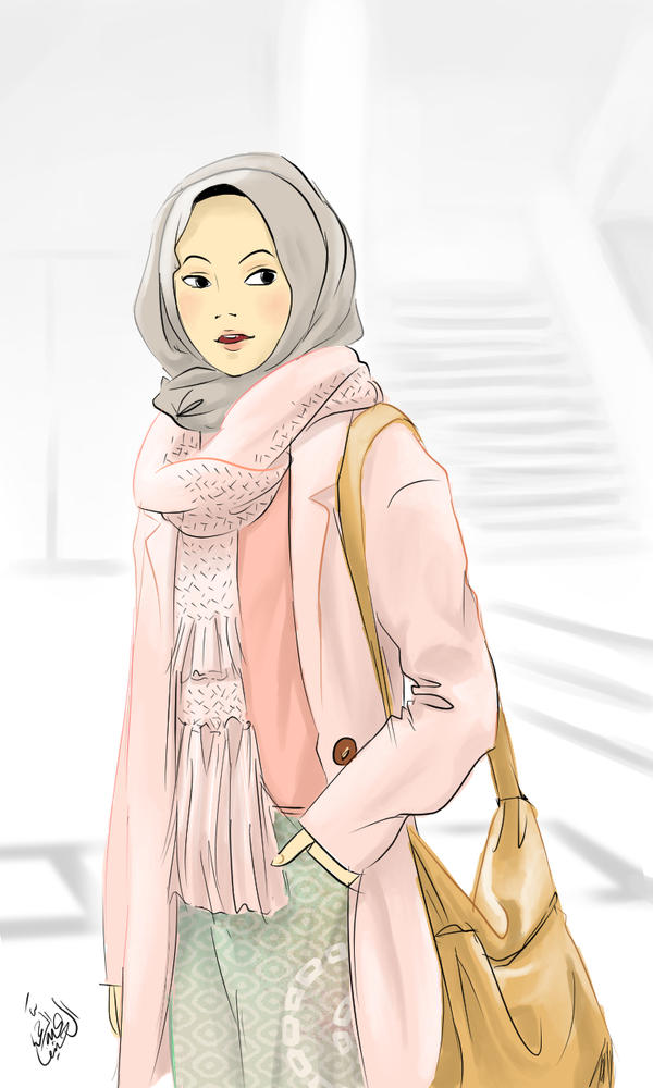 hijab casual by zenvuitton on deviantart