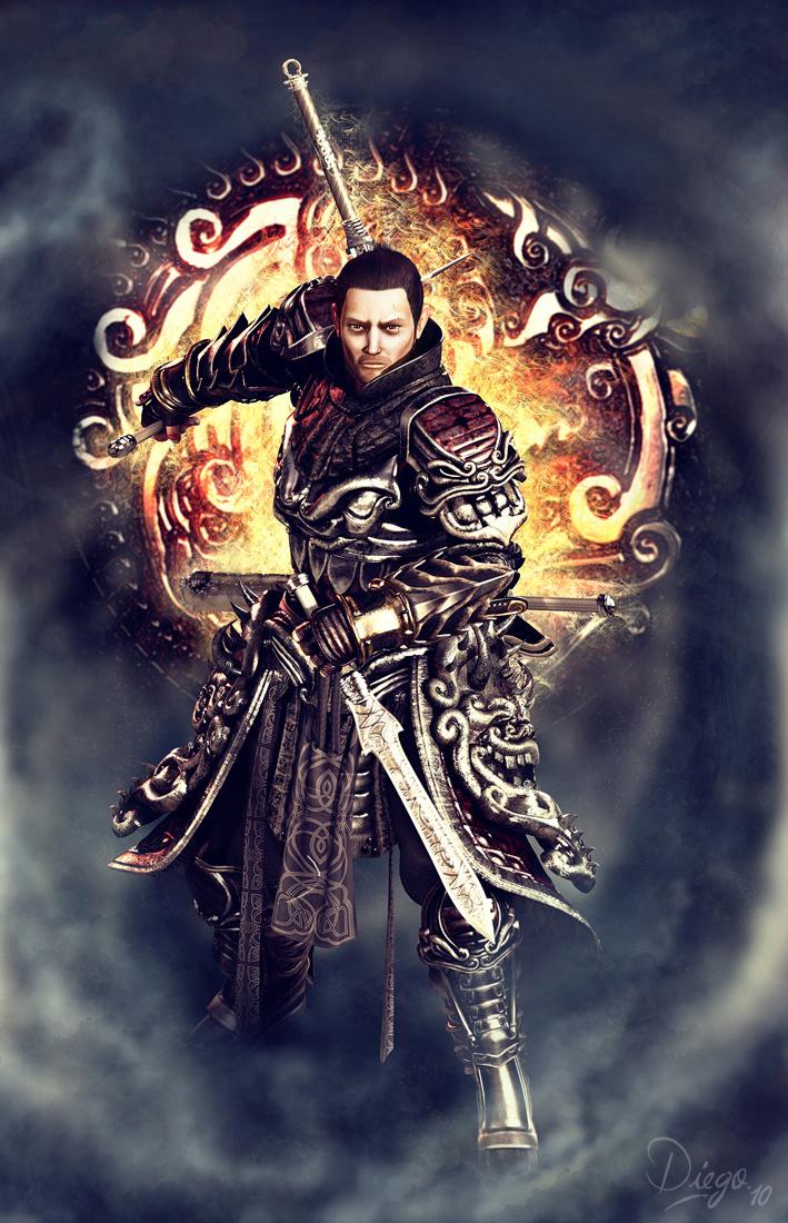 Fantasy warrior men - photo#47