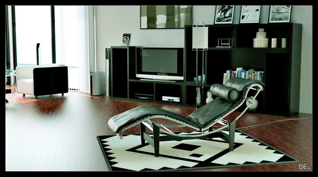 MY First Interio room by cuatrod