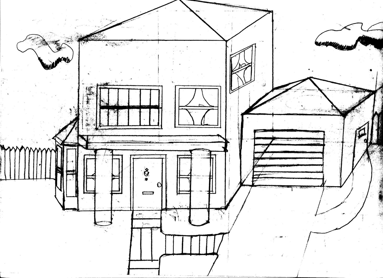 House Sketch By Tom Potter On Deviantart