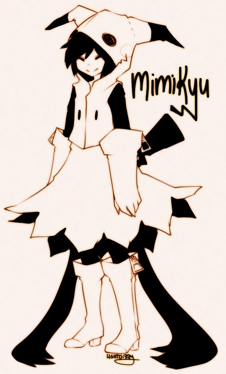 Mimikyu By Lightdizzy On Deviantart