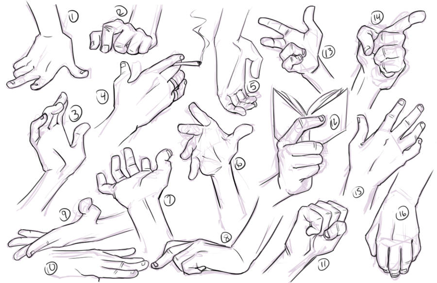 Hand Studies by conniiption