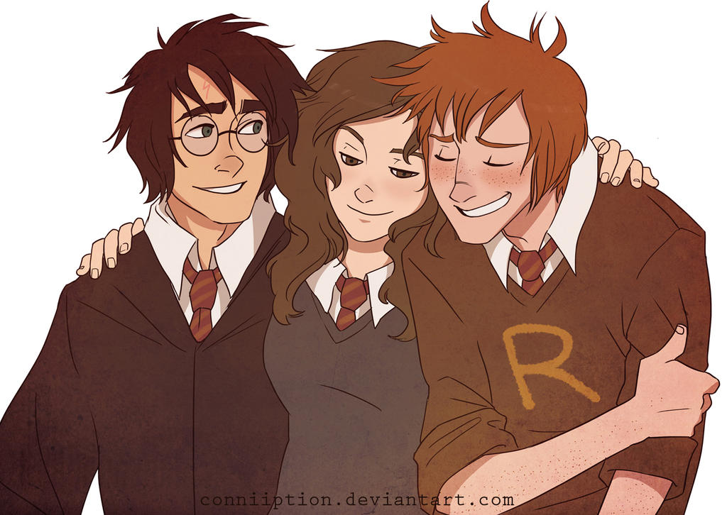 Trio of Heroes by conniiption on DeviantArt