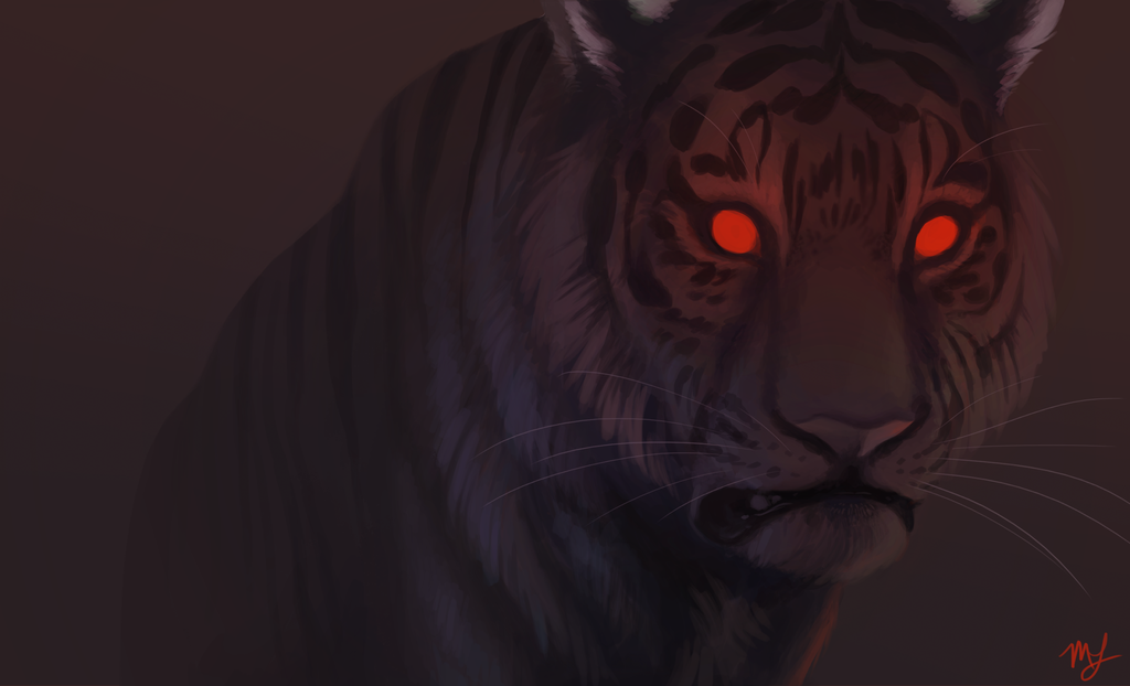 Red Tiger by conniiption