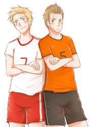 Aph: Denmark vs Netherlands by Akane-Hoshiyo