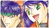 FE- Ike and Mia stamp by levenark