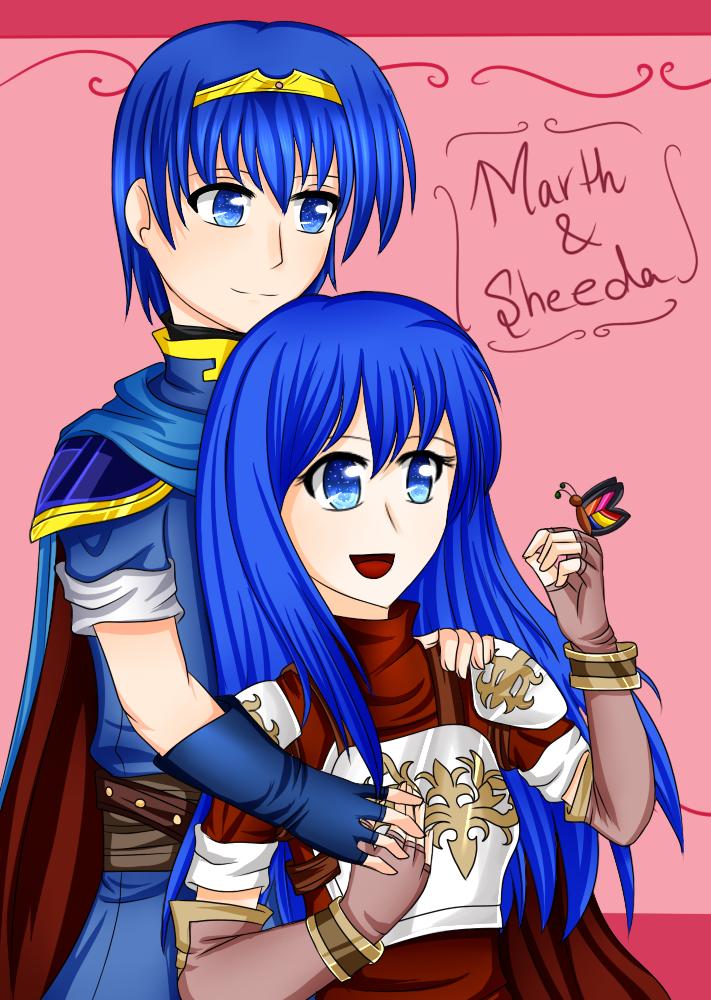 Marth And Caeda