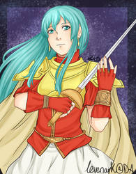 FE8 - The Princess of Renais by levenark