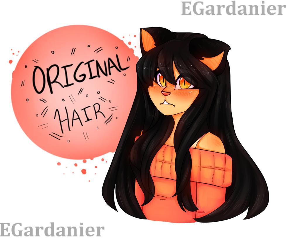 Kawaii~chan real hair by egardanier on DeviantArt