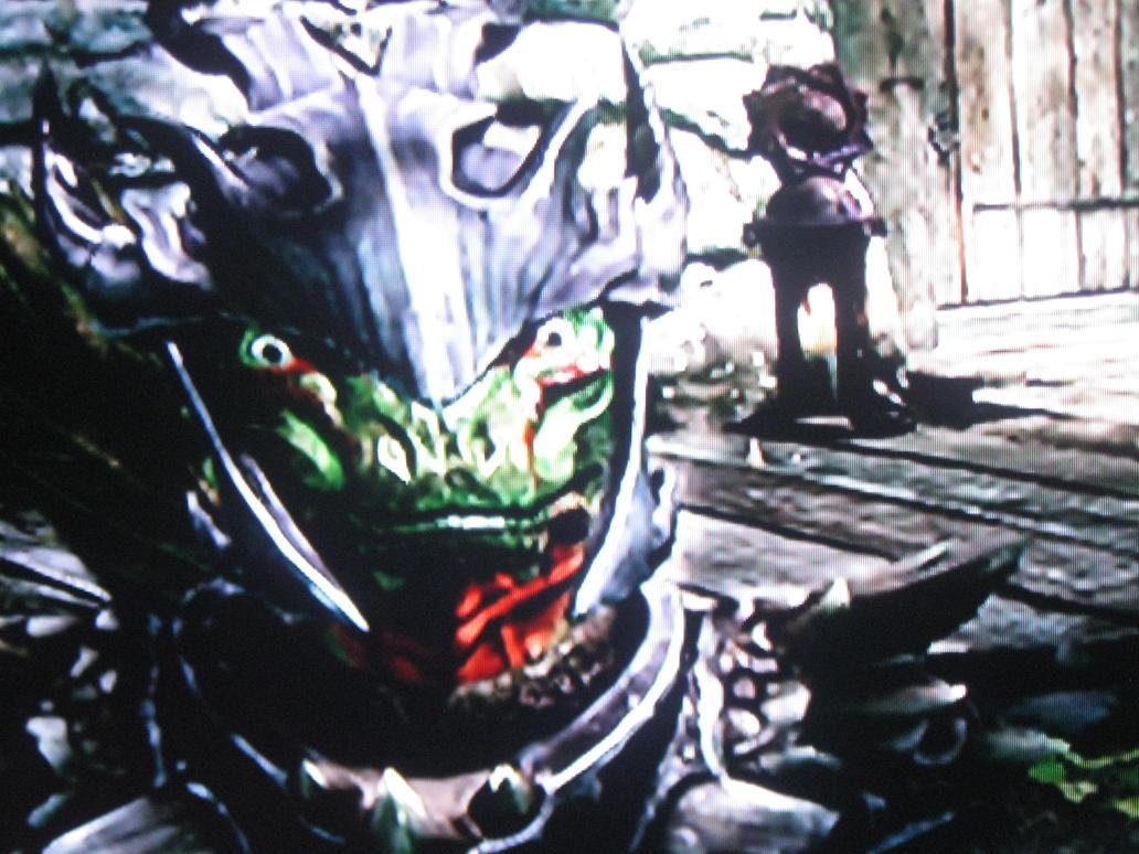 My Argonian in Dragon Scale Armor by Funkifan on DeviantArt