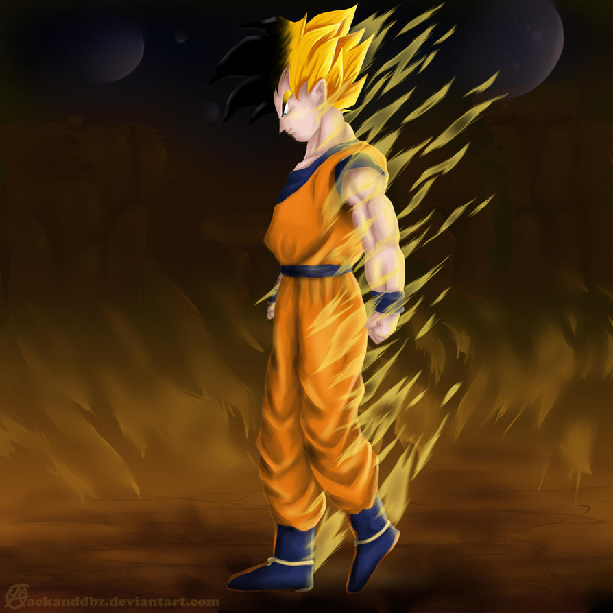 SSJ legend's SON by wolfyLRiina