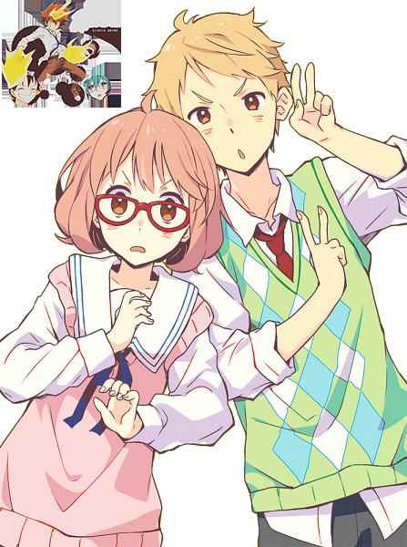 Renders anime Kyoukai_no_kanata_render_by_adrian17vera-d79h704