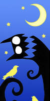 Of Moons, Birds and Monsters by Duende14