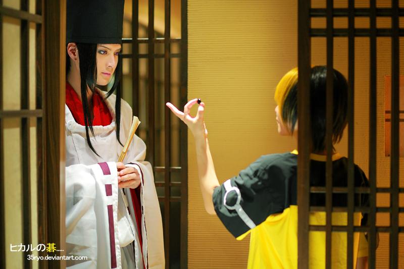 Hikaru and Sai by 35ryo