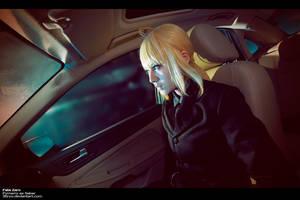 Saber Black suit by 35ryo