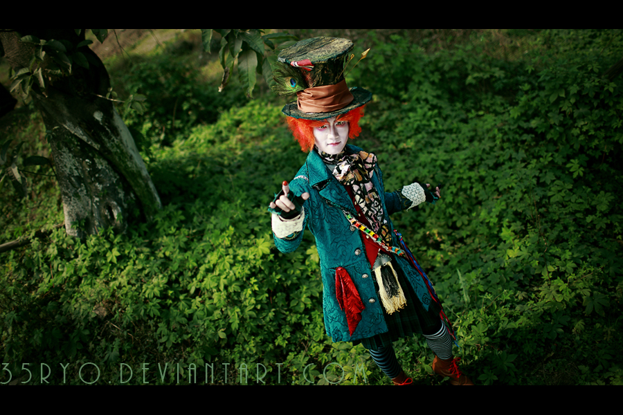Mad Hatter by 35ryo