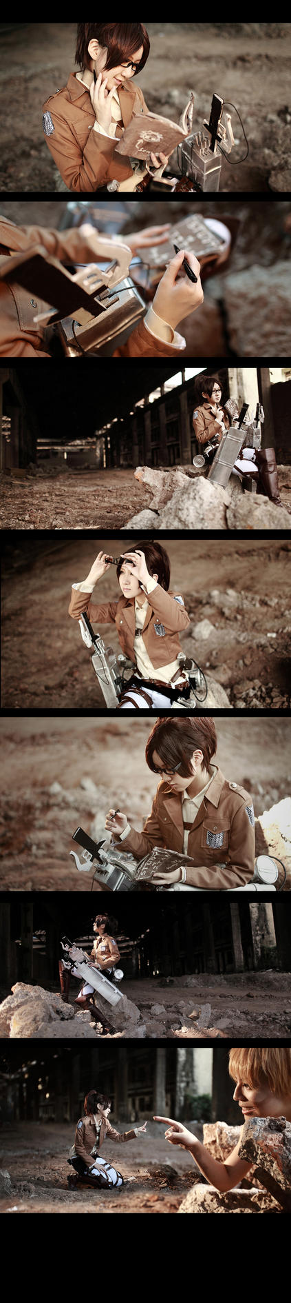 Attack on Titan Hanji Zoe4 by 35ryo