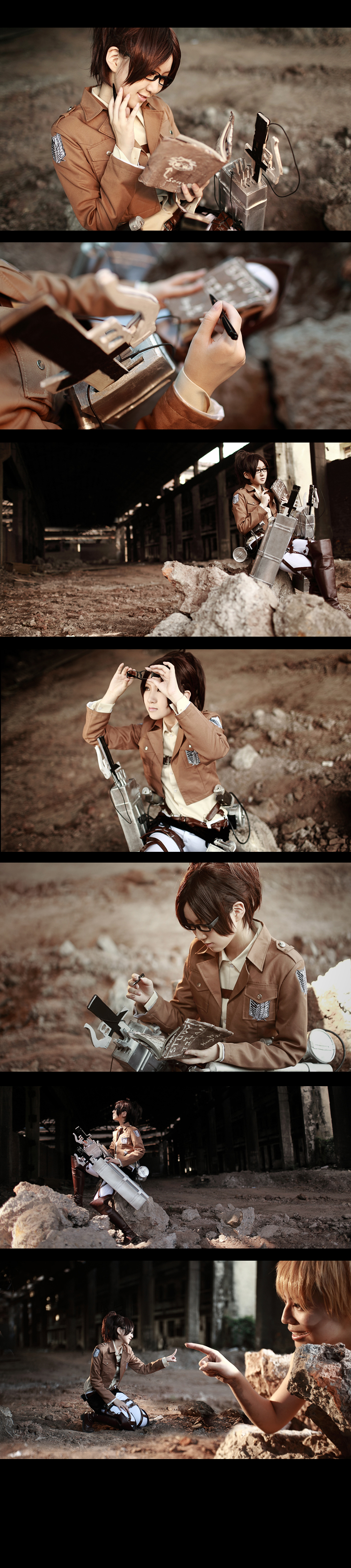 Attack on Titan Hanji Zoe4 by 35ryo