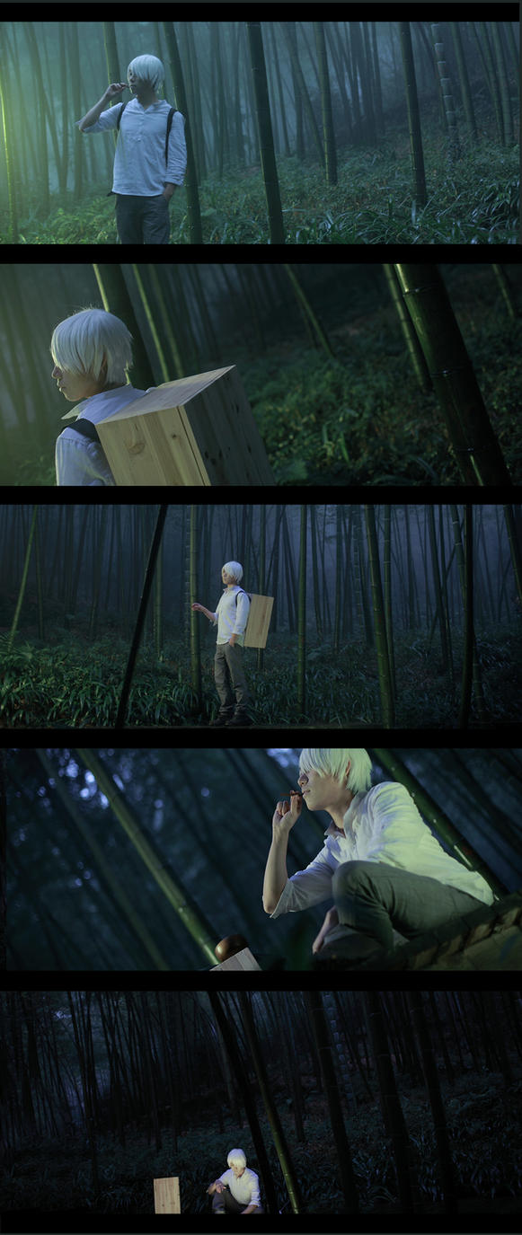 mushishi by 35ryo