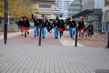 Baka to Test: Last school day by MrGeneration